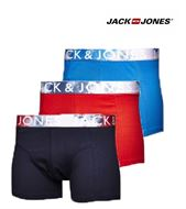 3 MENS JACK & JONES BOXERSHORTS / TRUNKS SPLINT SCARLET